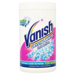 Vanish Crystal White Oxi Action Powder Fabric Stain Remover 1500g