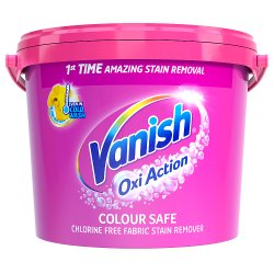 Vanish Oxi Action Powder Fabric Stain Remover 2.4kg