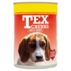 Tex Chunks with Beef 400g
