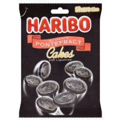HARIBO Authentic Pontefract Cakes Soft Liquorice Bag 140g