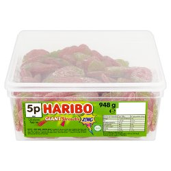 HARIBO Giant Strawbs Z!ng 120 Pieces 948g