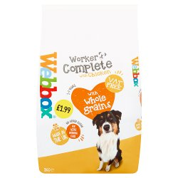 Webbox Complete Dog Food for Working Dogs 2kg