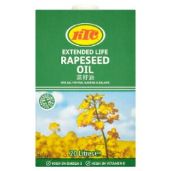 KTC Extended Life Rapeseed Oil 20 Litres