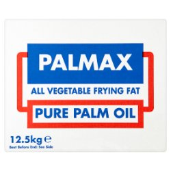 Palmax All Vegetable Frying Fat Pure Palm Oil 12.5kg
