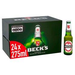 Beck's Beer 24 x 275ml