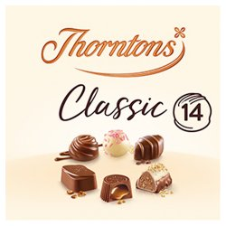 Thorntons Classic Our Most Loved Chocolates 150g