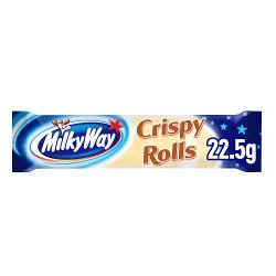 Milky Way Crispy Rolls Chocolate Bar 25g