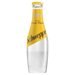 Schweppes Tonic 200ml Pack of 24