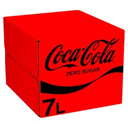 Coca-Cola Zero Bag in Box 7L