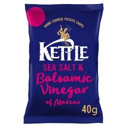 KETTLE® Sea Salt & Balsamic Vinegar of Modena 40g