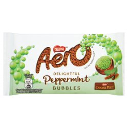 Nestlé® Aero® Bubbles Peppermint Mint Chocolate Bag 36g