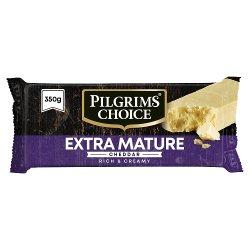 Pilgrims Choice Extra Mature Cheddar 350g