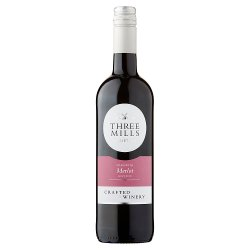 Three Mills Varietals Merlot 75cl