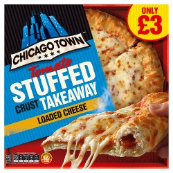 Chicago Town Takeaway Medium Stuffed Crust Cheese Pizza 480g