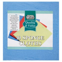 Batleys Catering 10 Sponge Cloths