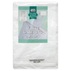 Batleys Catering White Catering Apron