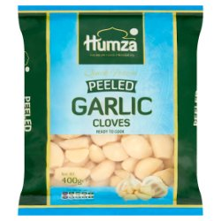 Humza Premium Food Products Quick Frozen Peeled Garlic Cloves 400g