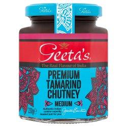 Geeta's Premium Tamarind Chutney Medium 230g