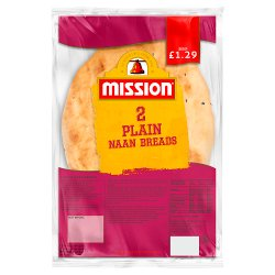 Mission 2 Plain Naan Breads