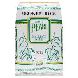 White Pearl Broken Basmati Rice 10kg