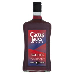 Cactus Jack's Schnapps Dark Fruits 70cl