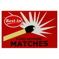 Best-in 40 Strike Anywhere Matches