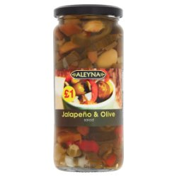Aleyna Jalapeño & Olive Salad 480g