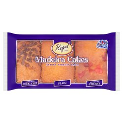 Regal Bakery 3 Classic Madeira Cakes Triple Variety Pack