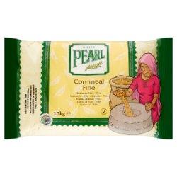 White Pearl Cornmeal Fine 1.5kg