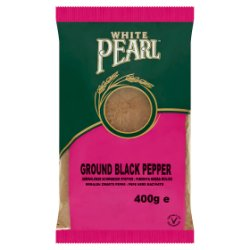 White Pearl Ground Black Pepper 400g