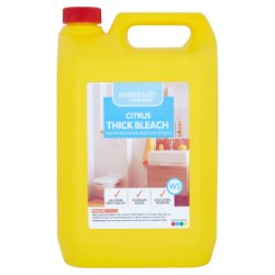 Essentially Cleaning Citrus Thick Bleach W5 5L