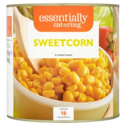 Essentially Catering Sweetcorn in Salted Water 2.12kg
