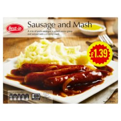 Best-in Sausage and Mash 400g