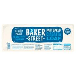 Baker Street Part Baked Ciabatta Loaf