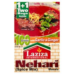 Laziza International Nehari Masala Spice Mix 100g