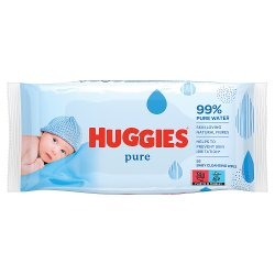 Huggies® Pure Baby Wipes - 1 Pack (56 Wipes/Pack)