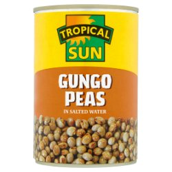 Tropical Sun Gungo Peas in Salted Water 400g