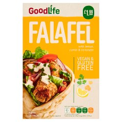 Goodlife 14 Falafel with Lemon, Cumin & Coriander 280g