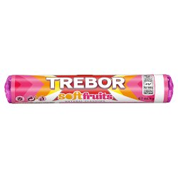 Trebor Softfruits Sweets Roll 44.9g