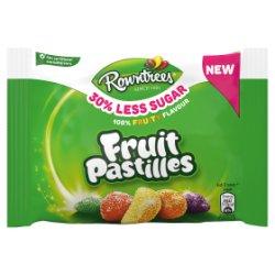 ROWNTREE'S 30% Less Sugar Fruit Pastilles 38g
