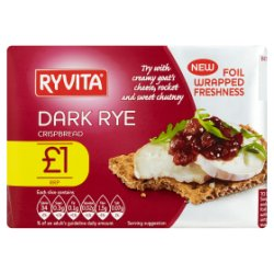 Ryvita Dark Rye Crispbread 200g