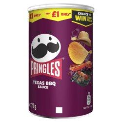 Pringles Texas BBQ Sauce Crisps 70g