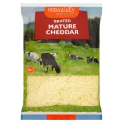 Essentially Catering Grated White Mature Cheddar 2kg