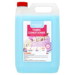 Essentially Cleaning Fabric Conditioner Blueberry & Jasmine Fragrance 5L