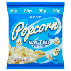 Best-One Popcorn Salted 34g