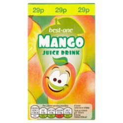 Best-One Mango Juice Drink 250ml