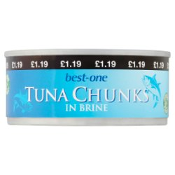 Best-One Tuna Chunks in Brine 160g