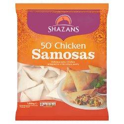 Shazans 50 Chicken Samosas 1.65kg