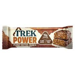 TREK Power Peanut Butter Crunch Protein Bar 55g