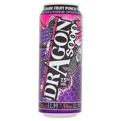 Dragon Soop Dark Fruit Punch Caffeinated Alcoholic Beverage 500ml